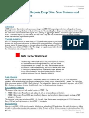 apex5_ir_features pdf   Cascading Style Sheets   Java Script