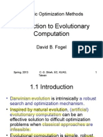 Introduction -Evolutionary Computation