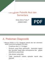 Psikotik Akut Dan Sementara RPS