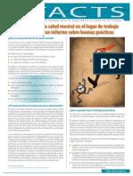 Promoción de La Salud Mental en El Lugar de Trabajo