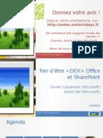 SharePoint 2013 nouveautés