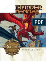 Pathfinder Chronicles - Gazetteer (Español)
