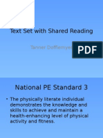 text set with shared reading