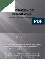 Definición de Sociología - PPT