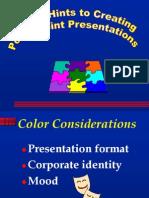 Presentation Basics