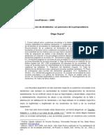Distribución de Dividendos- Jurisprudencia- Duprat