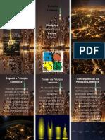Poluição Luminosa - folheto
