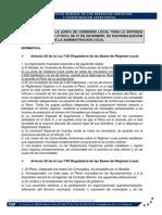 COMPETENCIAS DE LA JUNTA DE GOBIERNO LOCAL TRAS LA ENTRADA EN VIGOR DE LA LRSAL.pdf