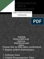 teknik pengumpulan & penyajian data.pptx