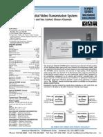 American Fibertek MR-91P899SL Data Sheet
