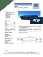 American Fibertek MRX-8406C-P Data Sheet