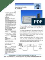 American Fibertek MT-88SL Data Sheet