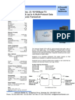American Fibertek MT-91P55558E Data Sheet