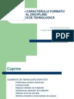 30 Cresterea Caracterului Formativ Al Disciplinei Educatie Tehnologica