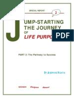 Jumpstarting the Journey of Life Purpose 2