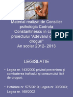 Legislatie - modificat