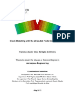 Thesis Crack Modelling With the EXtended Finite Element Method