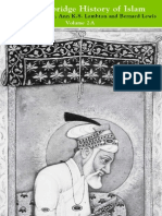 The Cambridge History of Islam, Volume 2A