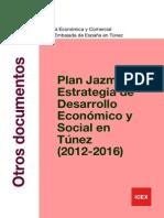 Plan Jazmín. Estrategía Desarrollo Económico-social (2012-2016)