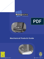 Borg Locks Mechanical Catalogue