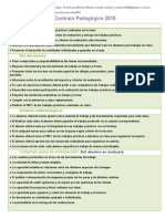 Contrato Pedagógico 2015 Abril