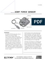 Economy Force Sensor Manual CI 6746