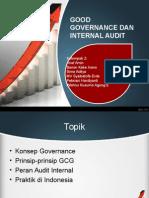 Presentasi Klp 1 - Good Governance Dan Internal Audit
