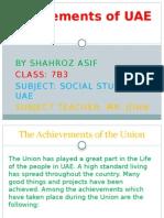 Achievements of UAE Union