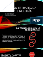Gestión Estratégica de La Tecnología