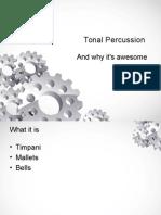 tonal percussion