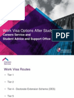 Work Visa After Study
