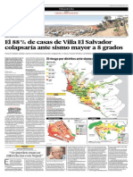 Sismo en Lima Proyecciones
