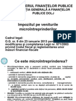 Impozit Microintreprinderi