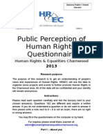 Human Rights Survey General Public (2)