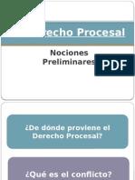 El Derecho Procesal. Nociones Preliminares (1)