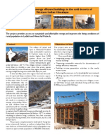 Passive Solar Houses Leaflet India