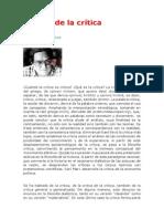 Prada Alcoreza Raúl - Miseria de La Crítica