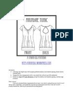 Ariadne Tunic Instructions