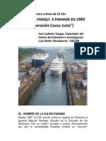 INVASIÓN DE EEUU A PANAMÁ (VI)