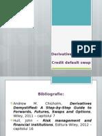 5. Derivative de Credit