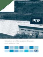 WEG Solucoes Em Geracao de Energia Usinas Hidreletricas Uhe 50039896 Catalogo Portugues Br