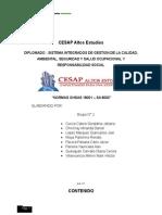 OHSAS 18001 - SA 8000