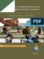 Los tribunales y la exigibilidad legal de los derechos económicos, sociales y culturales - Comisión Internacional de Juristas