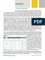 Primero Project Brief April 2015_v2