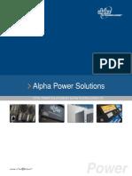 Alpha Power Catalog 2010