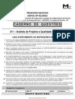 Analista de Projetos e Qualidade de Software