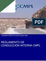 Reglamento Conduccion Interna CMPL Rev 0