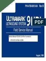ATL Ultramark 9HDI - Service Manual
