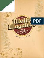 Molly Maguires Menu