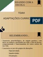 TDAH e Adaptação Curricular